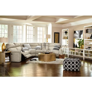 leather living room. The Catalina Collection  Cream Leather Living Room Furniture Value City and Mattresses