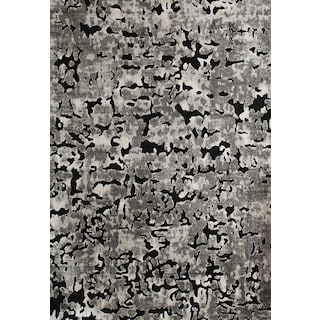 Napa 8' x 11' Area Rug - Gray and Black
