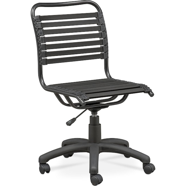 Home Office Furniture - Tribeca Desk Chair - Black