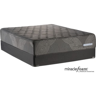 Bliss Luxury Firm Full Mattress and Foundation Set