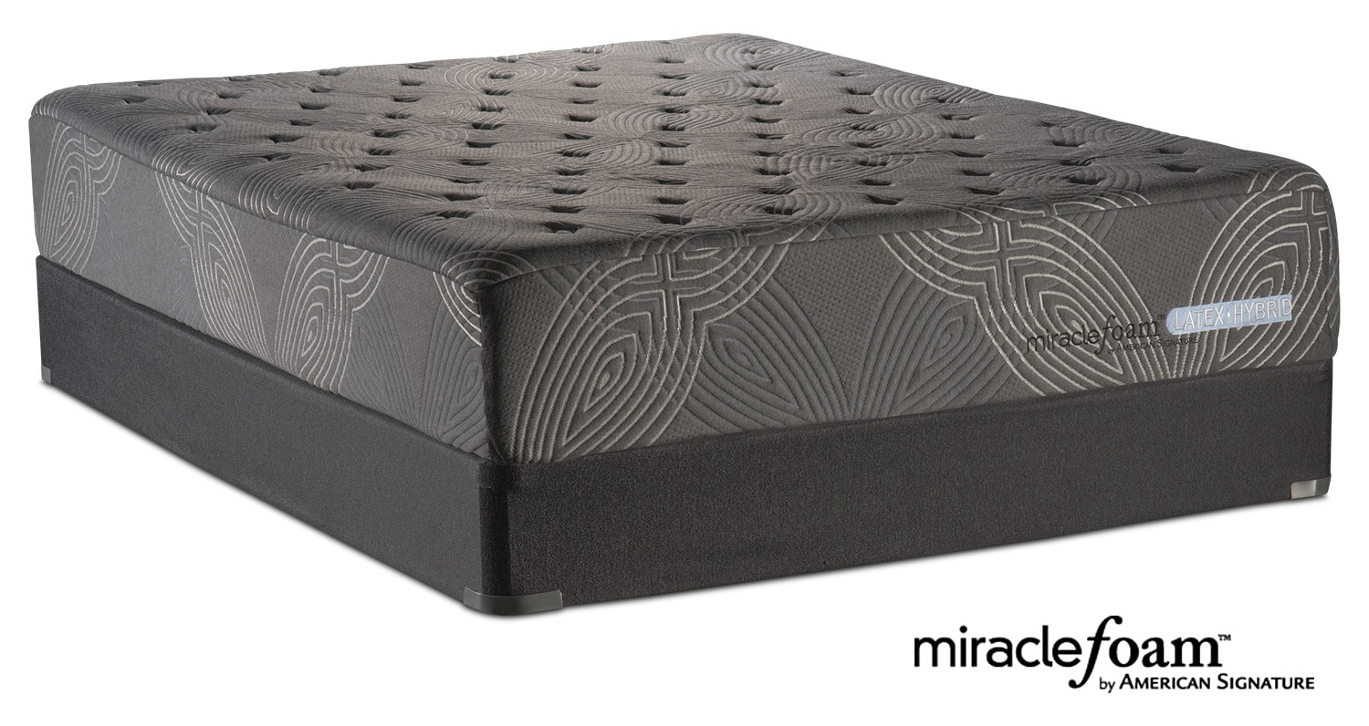 bliss luxury firm twin mattress and foundation set