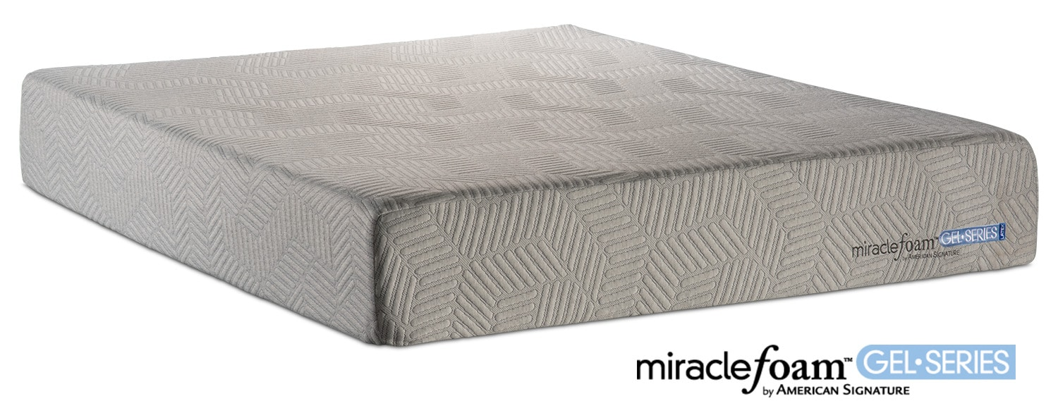 Invigorate Plush Queen Mattress By Miracle Foam