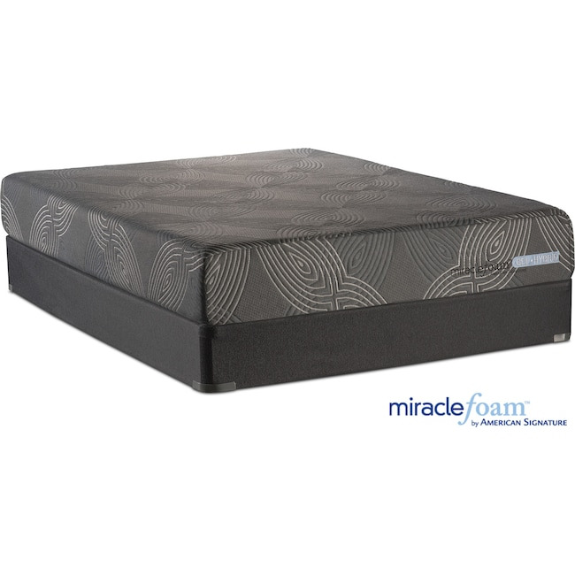 value city furniture mattresses serenity cushion firm mattress and foundation set 17693
