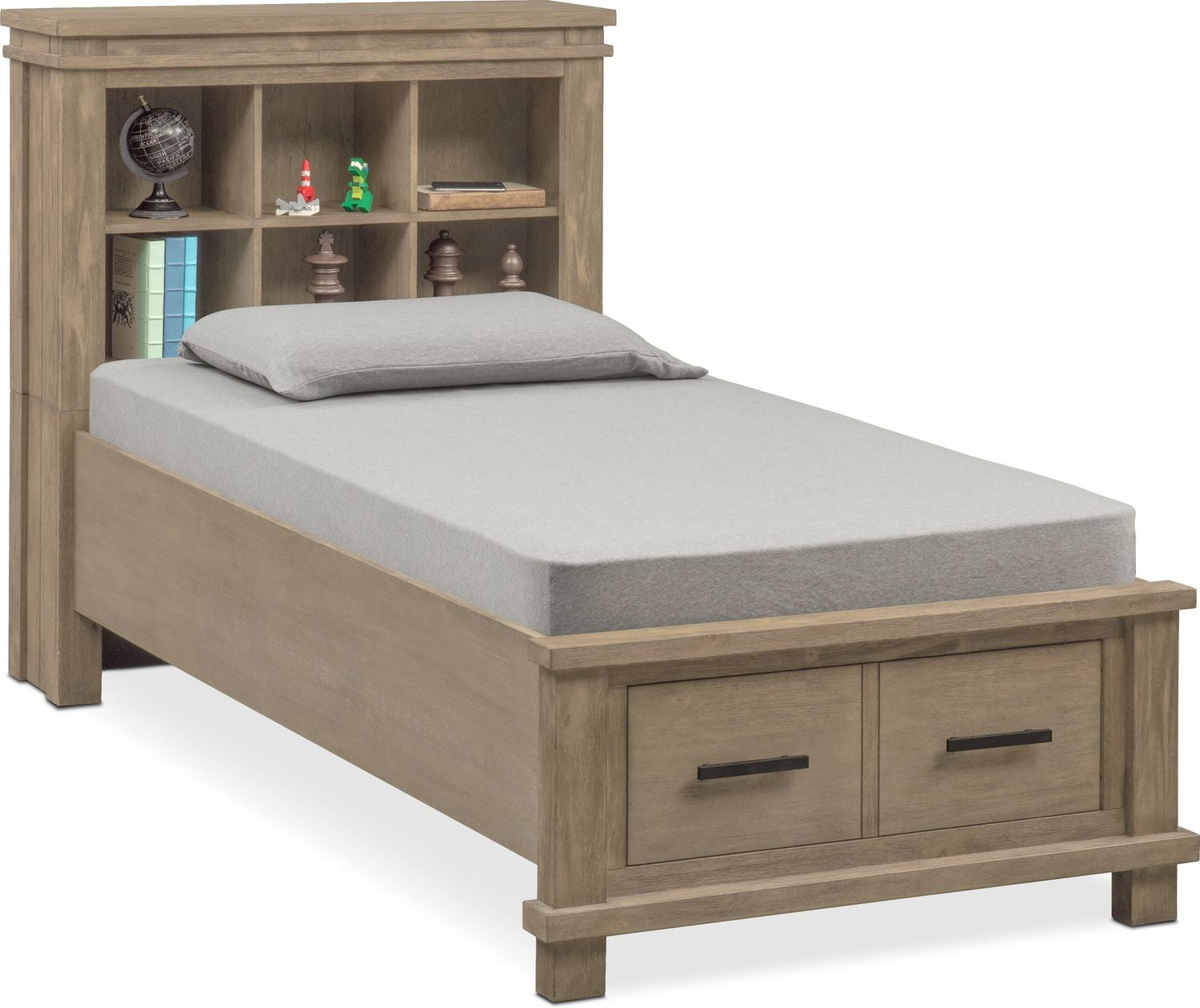 Bedroom Furniture   Tribeca Youth Bookcase Bed With 1 Underbed Drawer