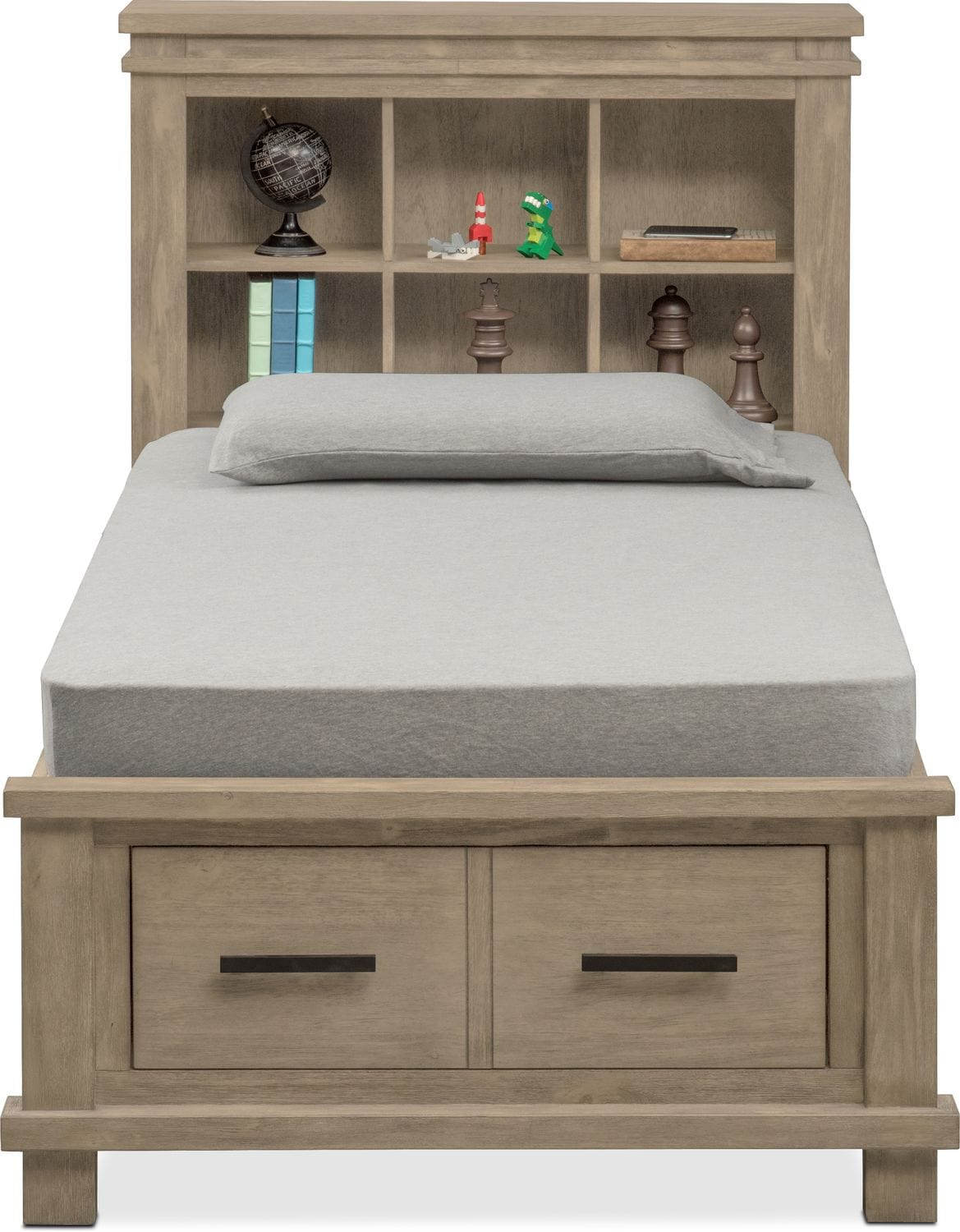 Trend White Twin Bedroom Set Painting