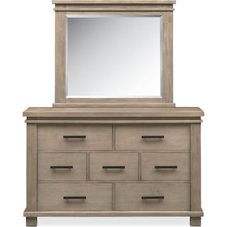 Tribeca Youth Dresser and Mirror