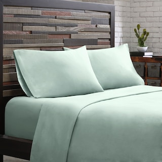 Queen 300 Thread Count Cotton Sheet Set - Aqua