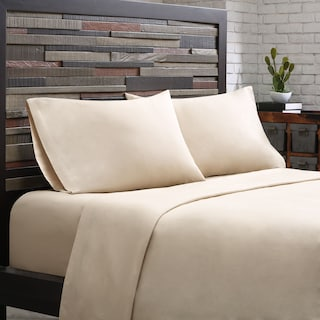 King 300 Thread Count Cotton Sheet Set - Khaki