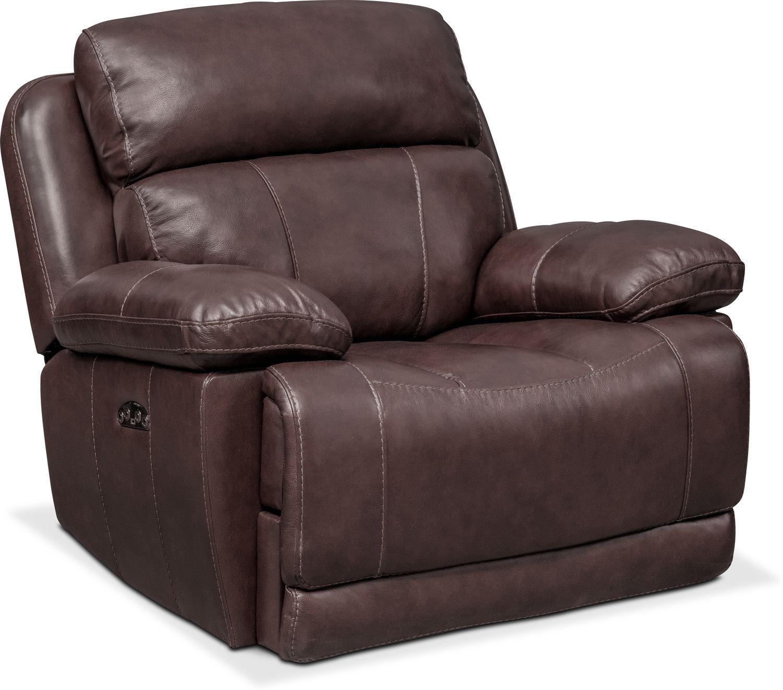 Monte Carlo Power Recliner - Chocolate  sc 1 st  American Signature Furniture & Quincy Rocker Recliner - Loden | American Signature Furniture islam-shia.org