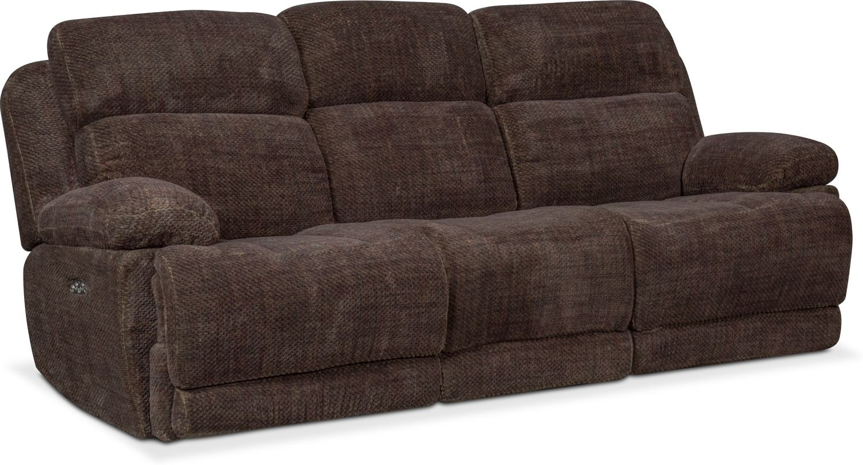 Monte Carlo Dual Power Reclining Sofa Reclining Loveseat