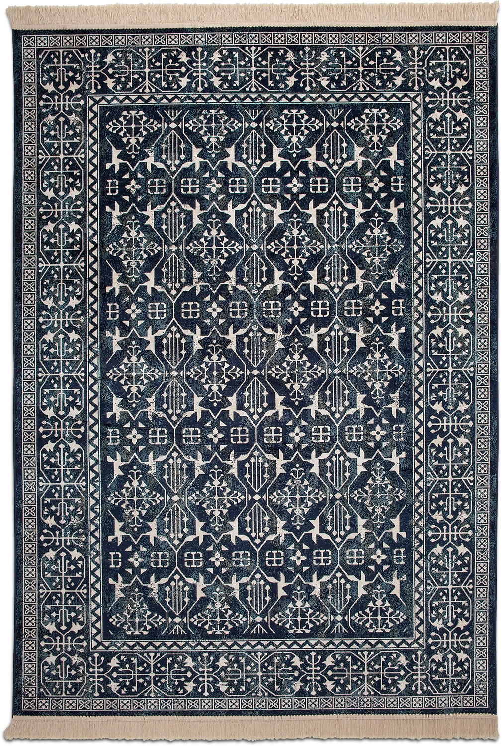 Rugs - Sonoma Area Rug - Traditional Navy