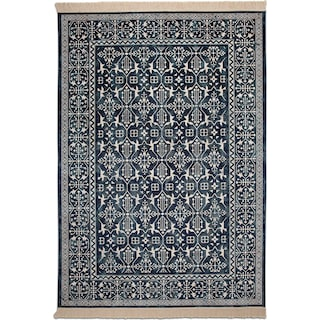 Sonoma 5' x 8' Area Rug - Traditional Navy