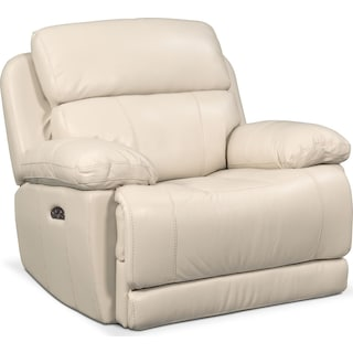 Monte Carlo Power Recliner - Cream