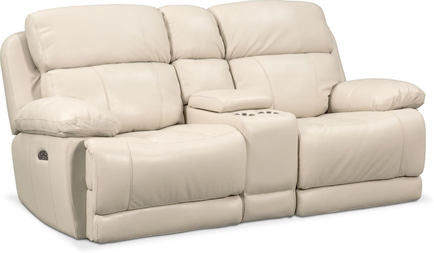 Living Room Furniture - Monte Carlo Dual-Power Reclining Loveseat