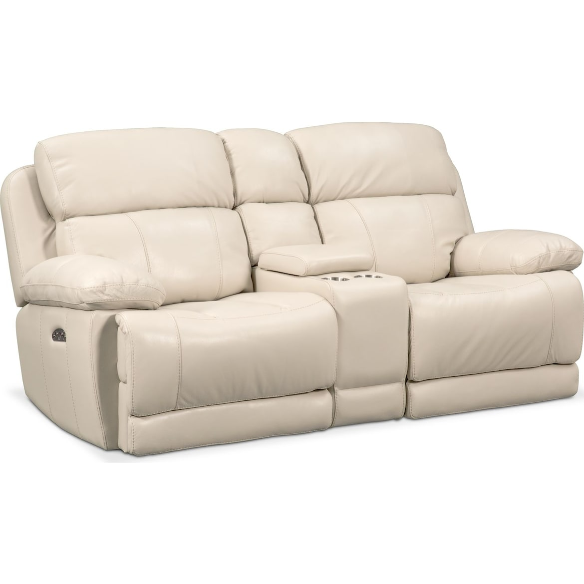Monte Carlo Dual Power Reclining Sofa And Loveseat Set