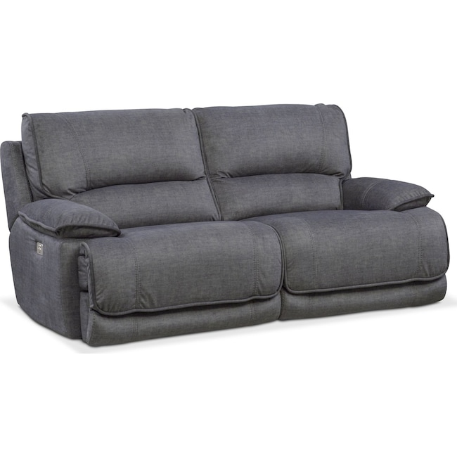 Living Room Furniture - Mario 2-Piece Power Reclining Sofa