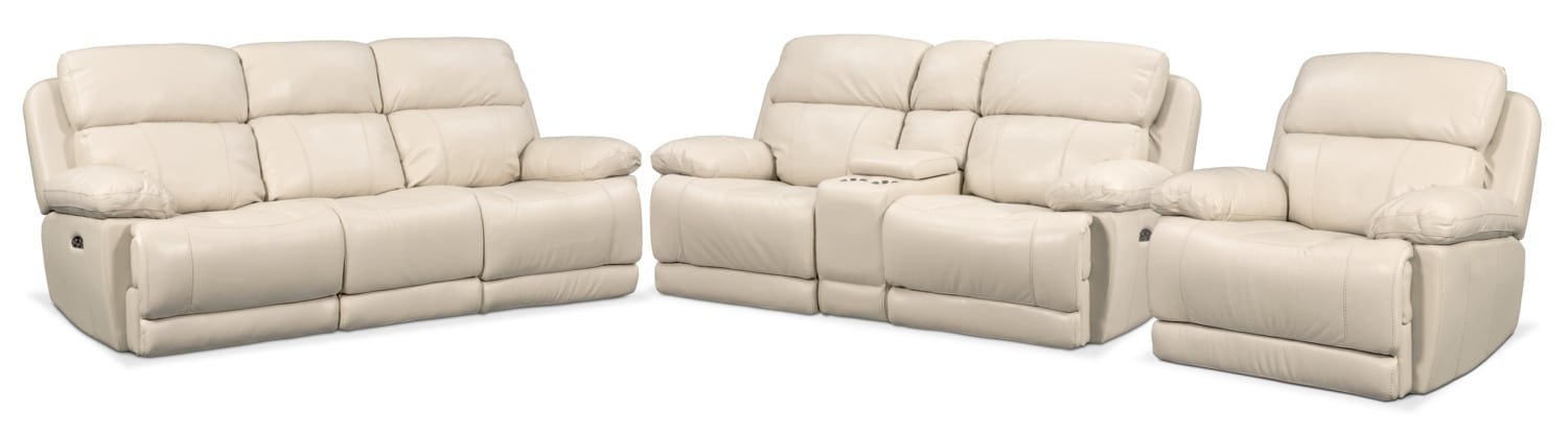 Living Room Furniture   Monte Carlo Dual Power Reclining Sofa, Reclining  Loveseat And Recliner Set