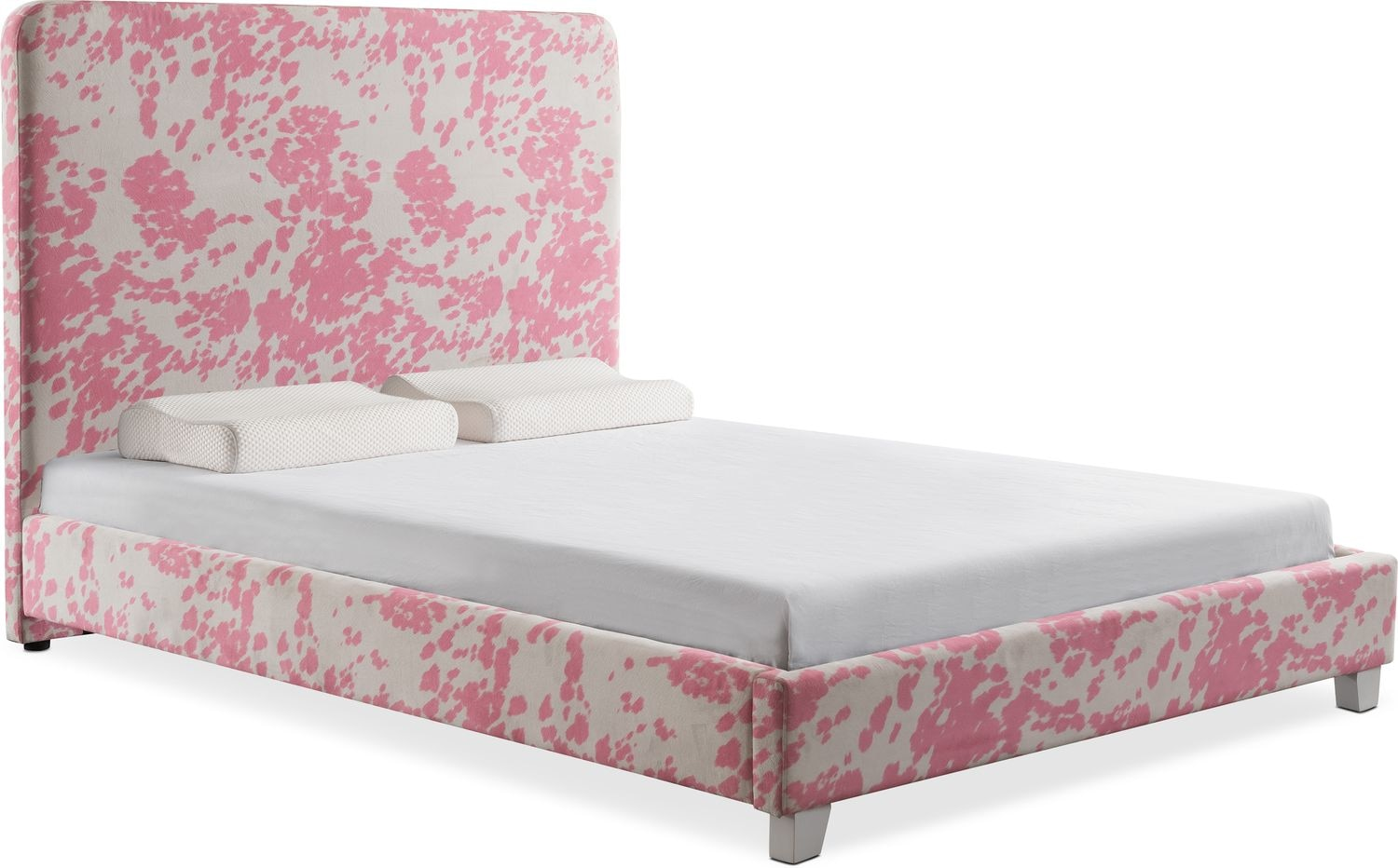 Jungle Upholstered Bed | Value City Furniture and Mattresses