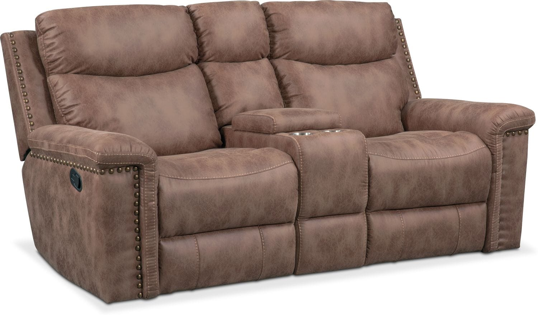 Montana Dual Manual Reclining Sofa Reclining Loveseat And  ~ Individual Recliner Sofa