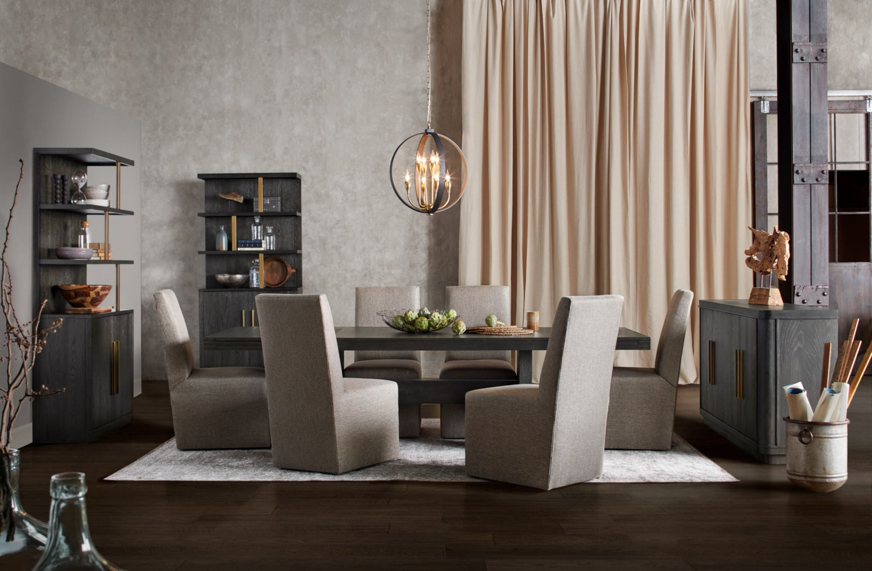The Malibu Rectangular Dining Collection - Umber