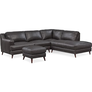 Leather Living Room Furniture Value City Furniture - City furniture living room sets