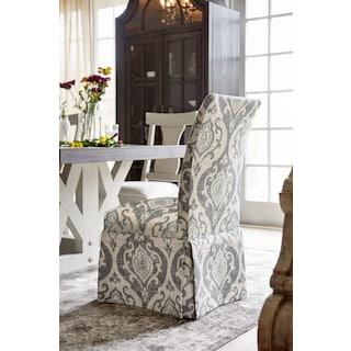 Carrollton Host Chair- Slate