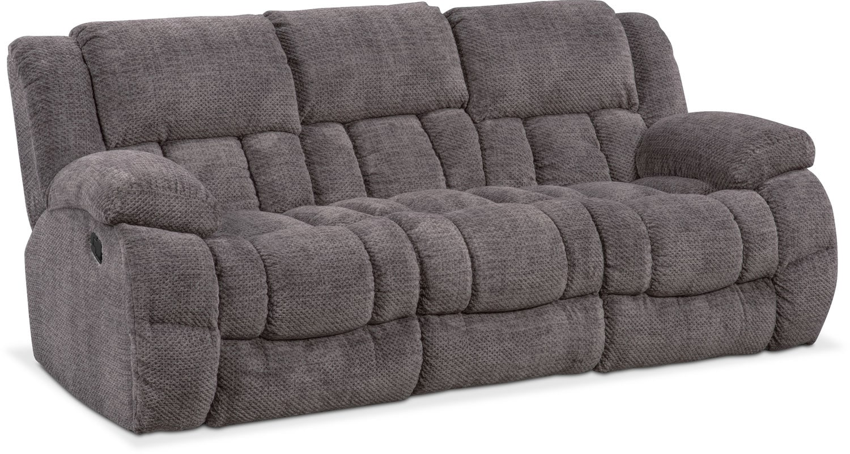 Living Room Furniture - Turbo Manual Reclining Sofa