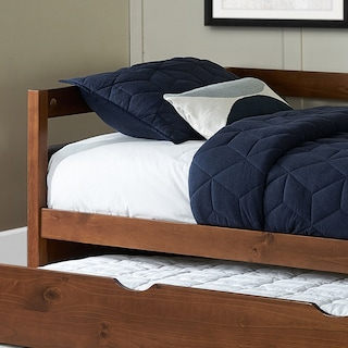 Hudson Twin Daybed with Twin Trundle - Walnut
