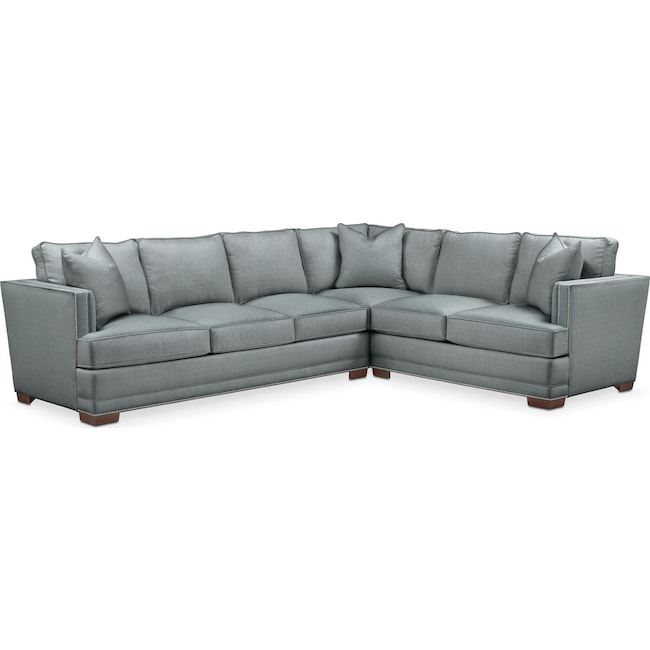 Arden 2 Pc Sectional With Left Arm Facing Sofa Comfort