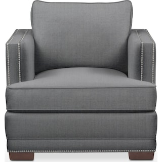 Arden Chair- Comfort in Depalma Charcoal