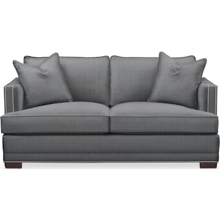Arden Apartment Sofa- Comfort in Depalma Charcoal