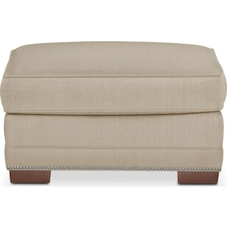 Arden Ottoman- Comfort in Taupe