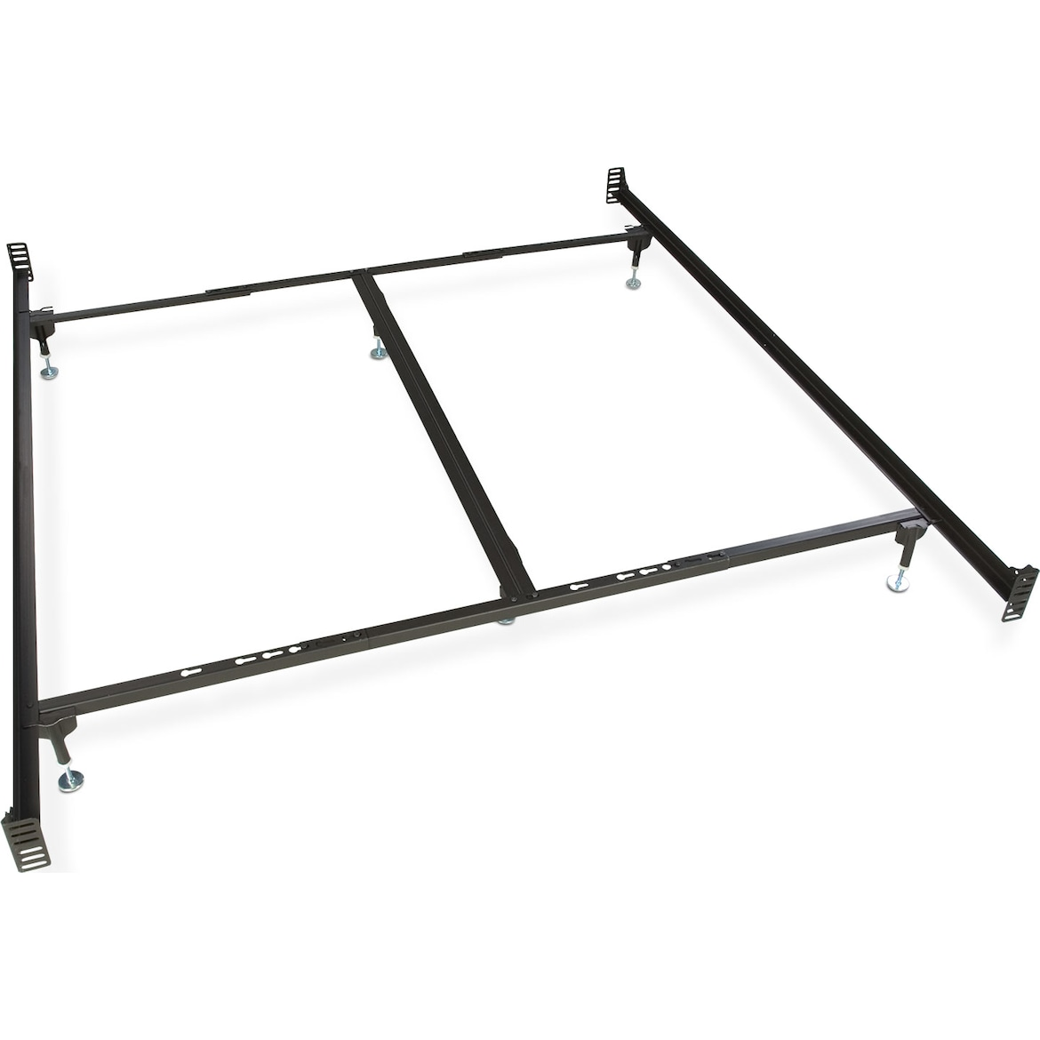king  queen glide bed frame