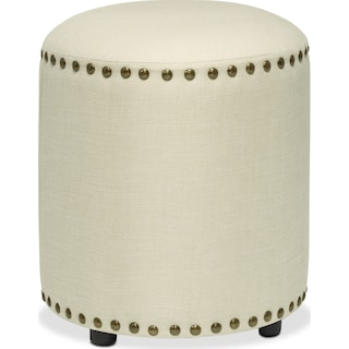 Fenmore Vanity Stool - Cream