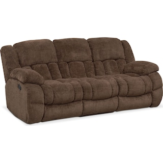 Turbo Reclining Sofa, Reclining Loveseat and Glider Recliner Set