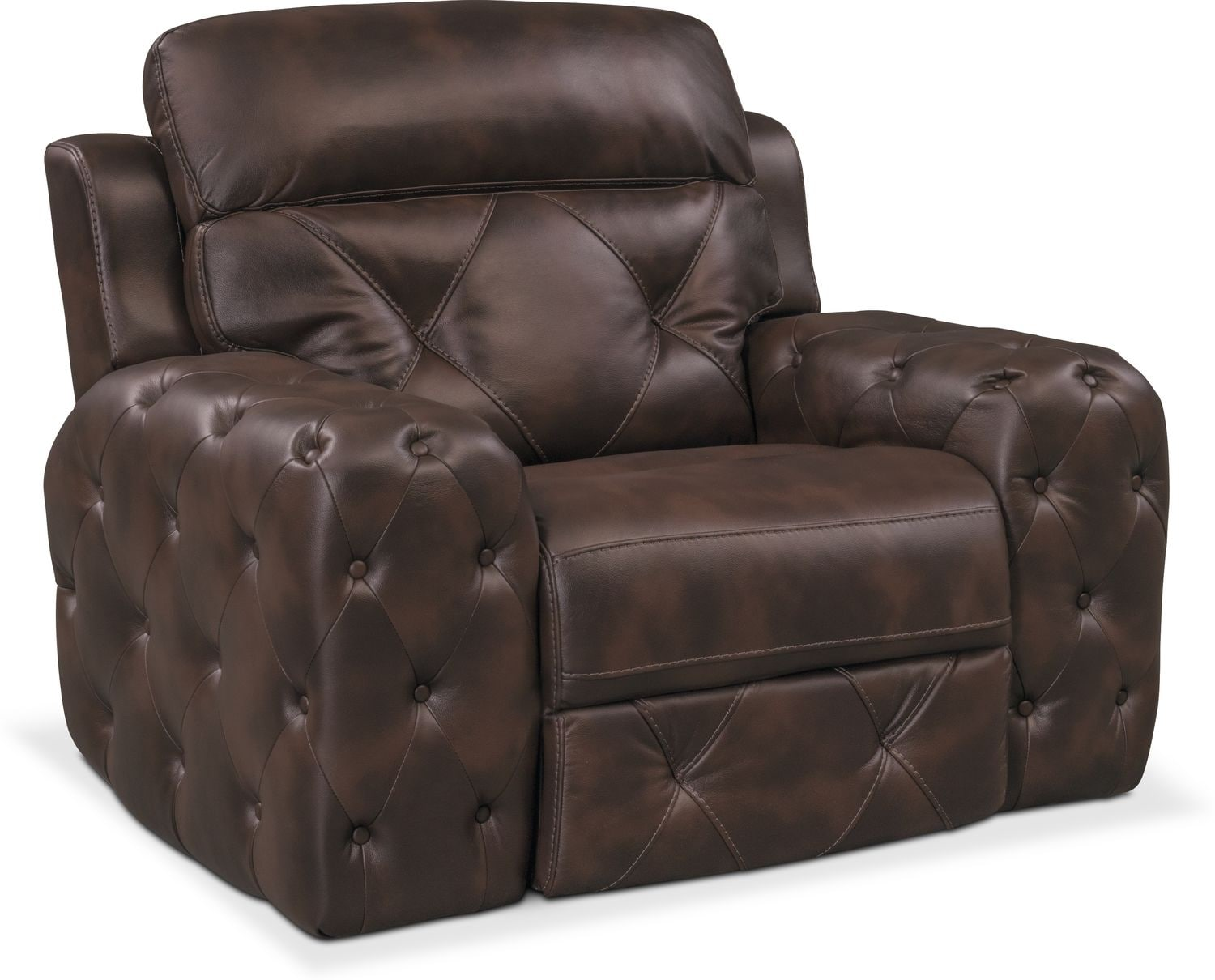 Macklin Power Recliner - Brown  sc 1 st  Value City Furniture & Recliners and Glider Chairs | Value City | Value City Furniture islam-shia.org