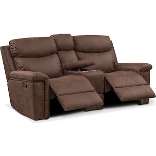Montana Manual Reclining Loveseat