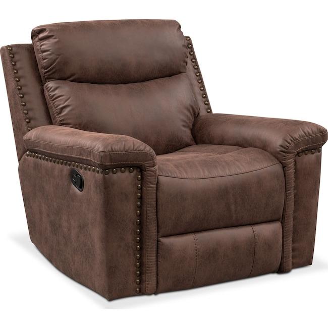 Living Room Furniture - Montana Manual Recliner