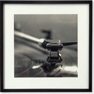 Musical Needle Framed Print