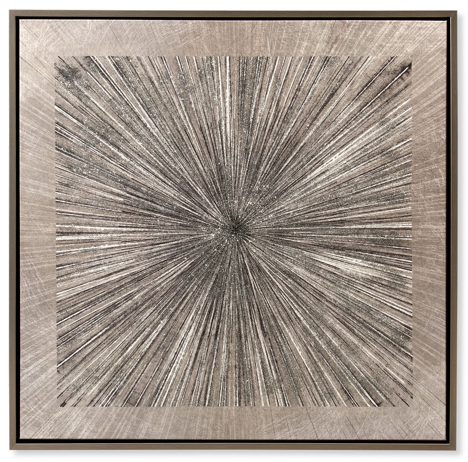 Home Accessories - Silver Spokes Framed Print