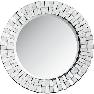 Mosaic Mirror - Silver