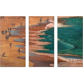 Set of 3 Salton Sea Painting
