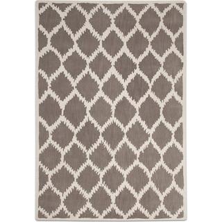 Lifestyle Kimble 5' x 8' Area Rug - Gray and Ivory