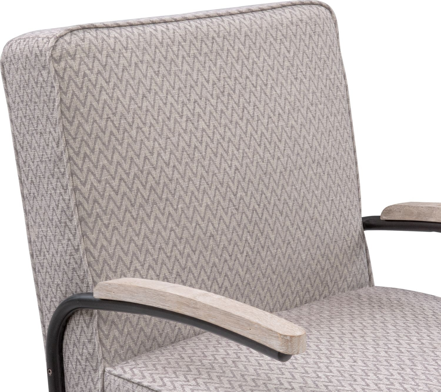 Crosby Accent Chair Gray Value City Furniture And
