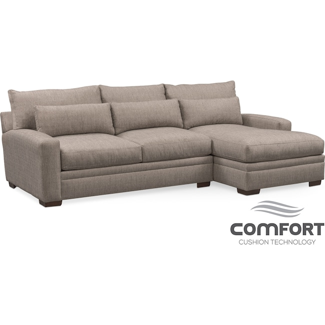 clad home with reversible exquisite gray lounge chaise furniture sectional sofa