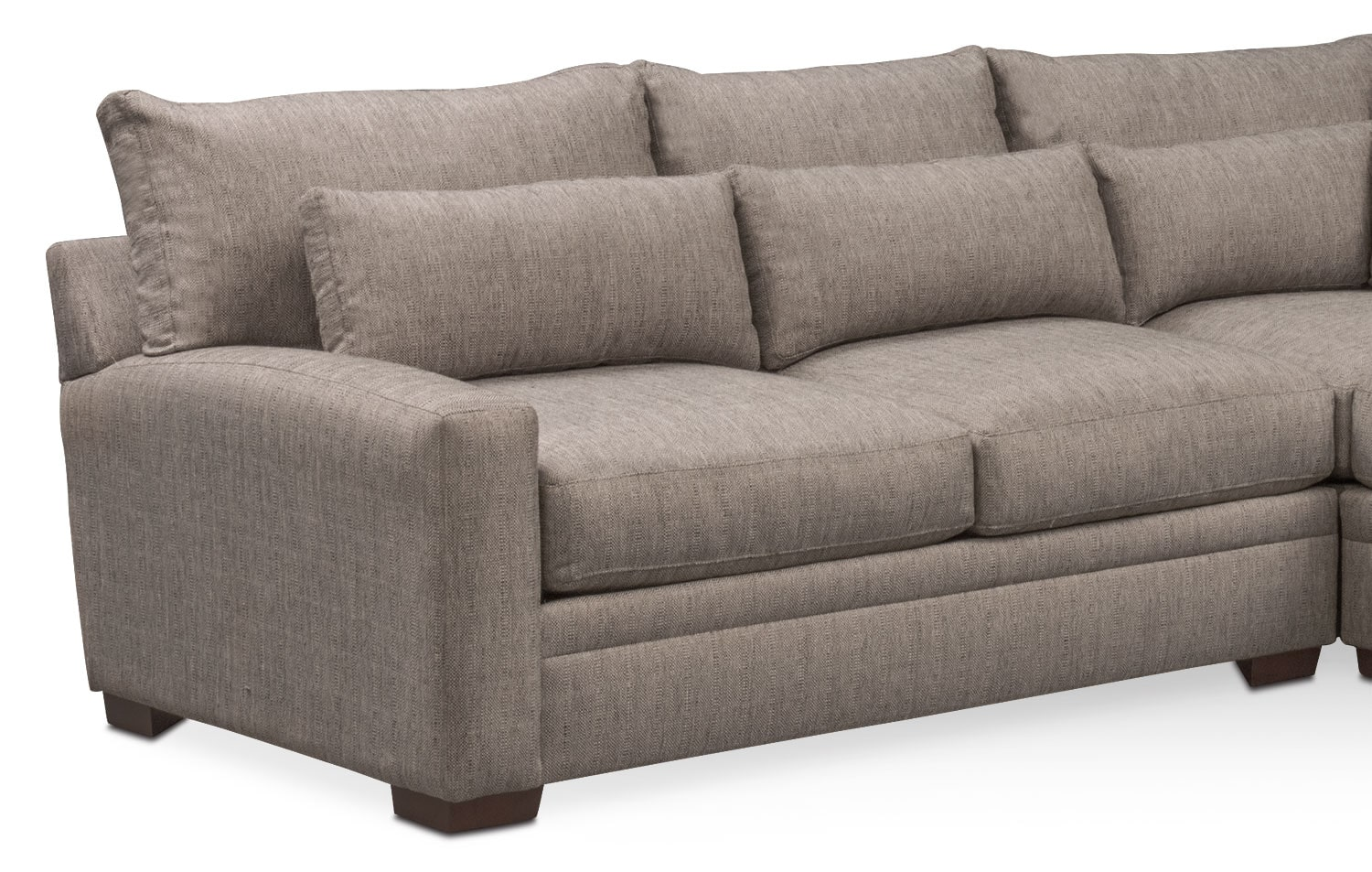 Winston 3 Pc Sectional Value City Furniture And Mattresses