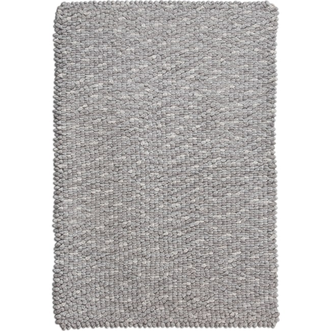 Plush Stone Rug: Plush Chamois 5' X 8' Area Rug - Stone