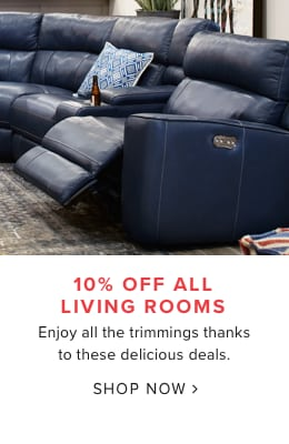 10% Off Living Rooms. Enjoy All The Trimmings Thanks To These Delicious  Deals.