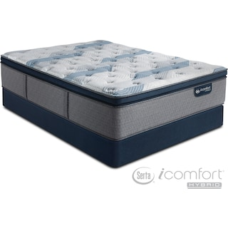 The Blue Fusion 300 Plush Pillowtop Mattress Collection