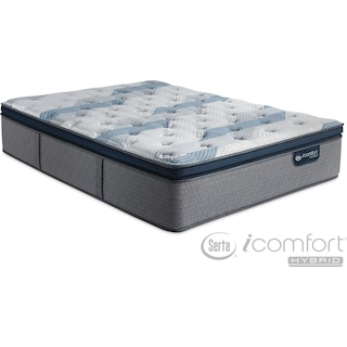Blue Fusion 300 Plush Pillowtop Queen Mattress
